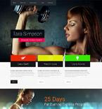Sport Website  Template 52121