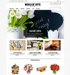 Gifts ZenCart  Template 52124