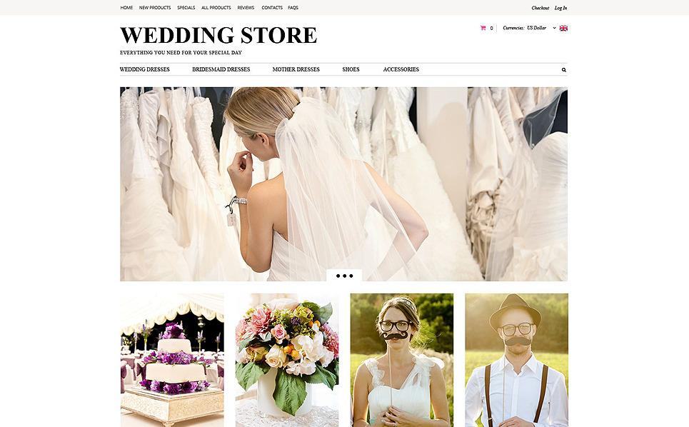 ZenCart Vorlage für Hochzeitsshop  New Screenshots BIG