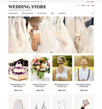 Wedding ZenCart  Template 52125