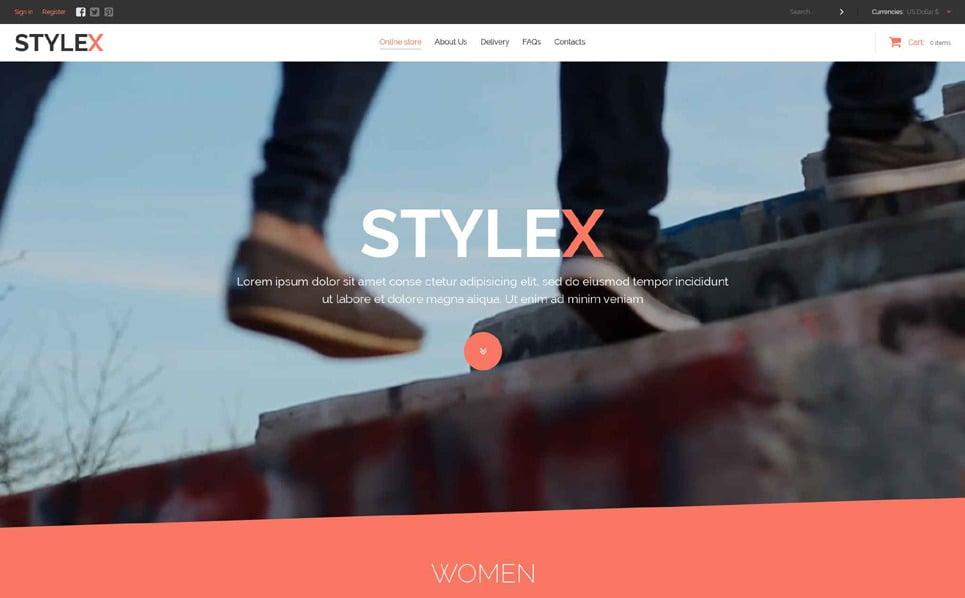 Responsive Moda Mağazası  Virtuemart Şablonu New Screenshots BIG