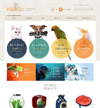 Animals & Pets Shopify Template 52131