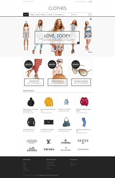 Modebutik Responsivt Shopify-tema