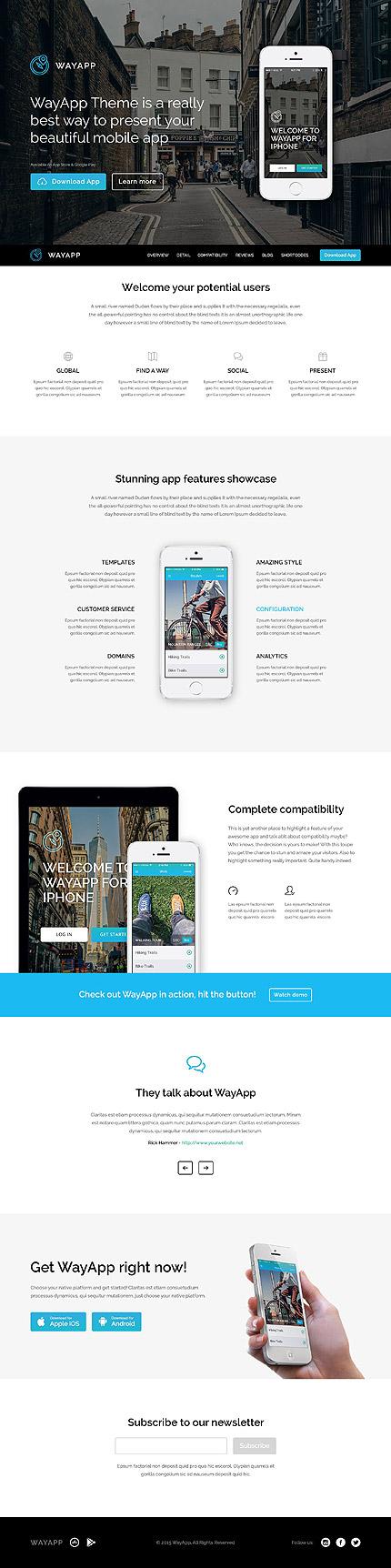 WordPress Theme/Template 52146 Main Page Screenshot