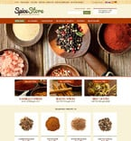 Food & Drink osCommerce  Template 52148
