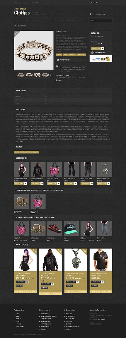 ADOBE Photoshop Template 52150 Home Page Screenshot