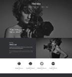 Art & Photography WordPress Template 52153
