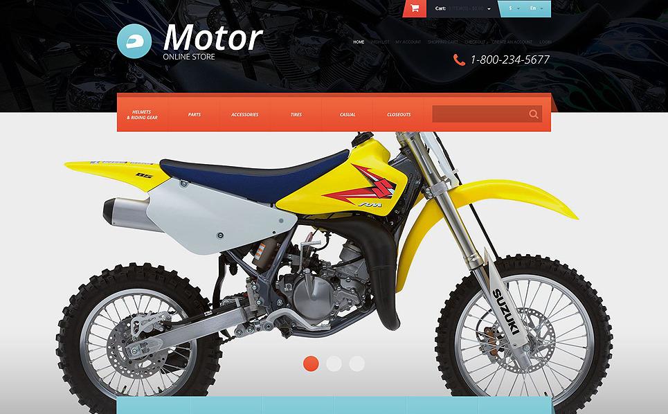 Thème OpenCart adaptatif  pour club de motards New Screenshots BIG