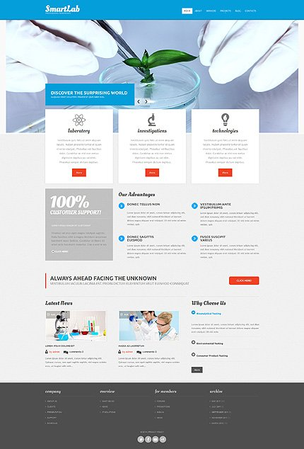 Drupal Template 52159 Main Page Screenshot