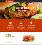Cafe & Restaurant Muse  Template 52163
