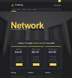 Web Hosting Muse  Template 52164