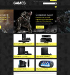 Games Magento Template 52165