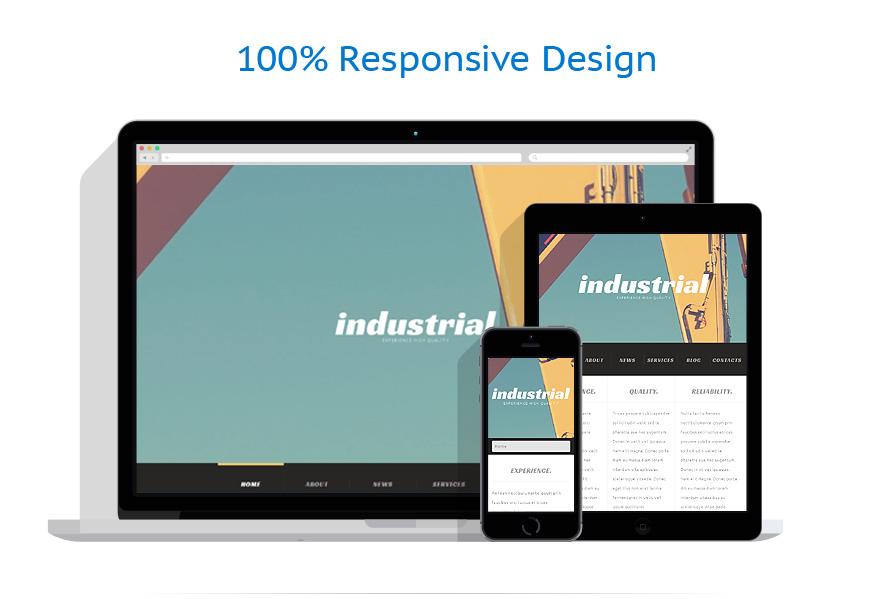 Thèmes WordPress Industriel #52167