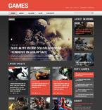 Games WordPress Template 52169