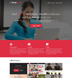Web design WordPress Template 52172
