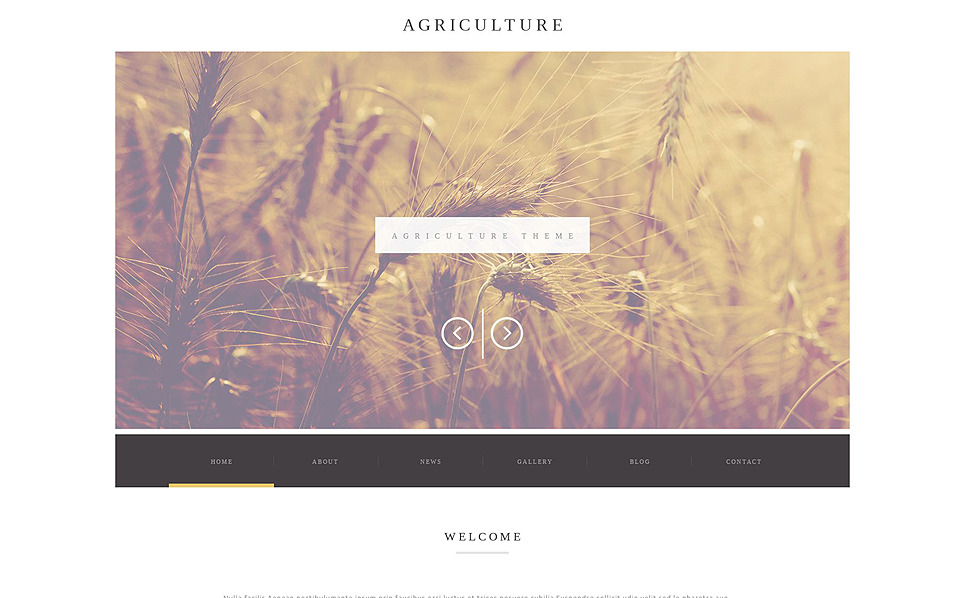 Reszponzív Farm WordPress sablon New Screenshots BIG