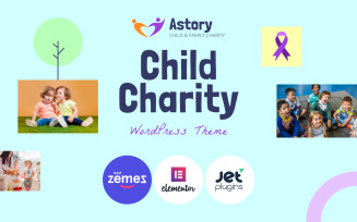 Astory - Child Charity WordPress Theme