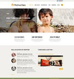 Charity Joomla  Template 52178