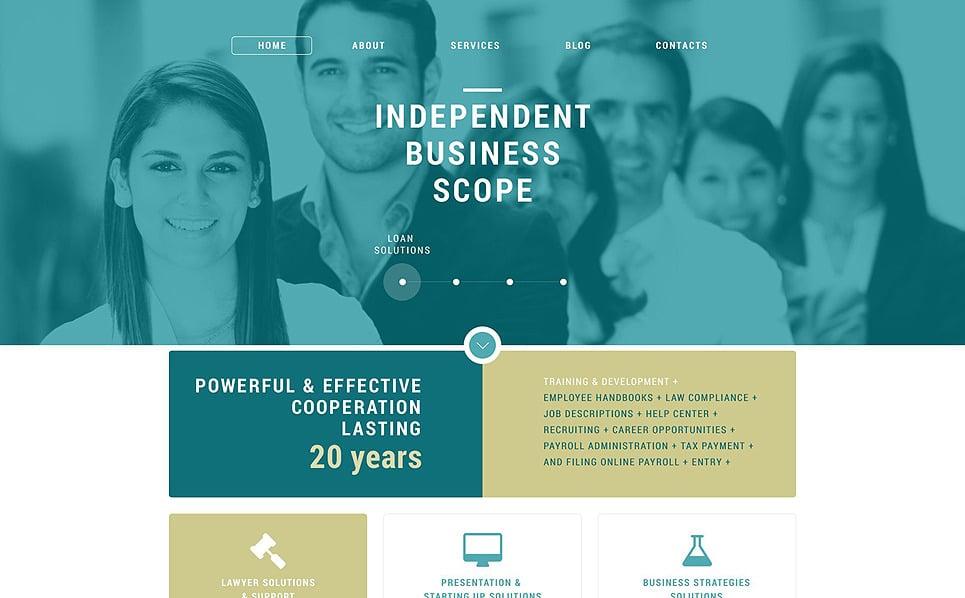 Template Joomla Flexível para Sites de Business & Services №52181 New Screenshots BIG