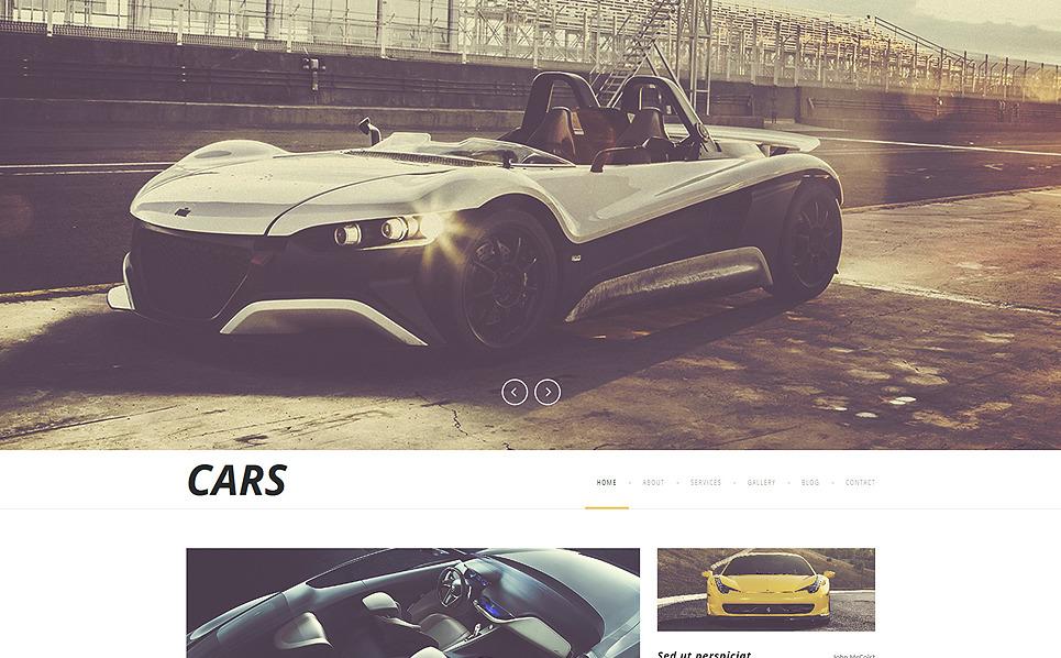 Template Joomla Flexível para Sites de Clube de Carros №52182 New Screenshots BIG