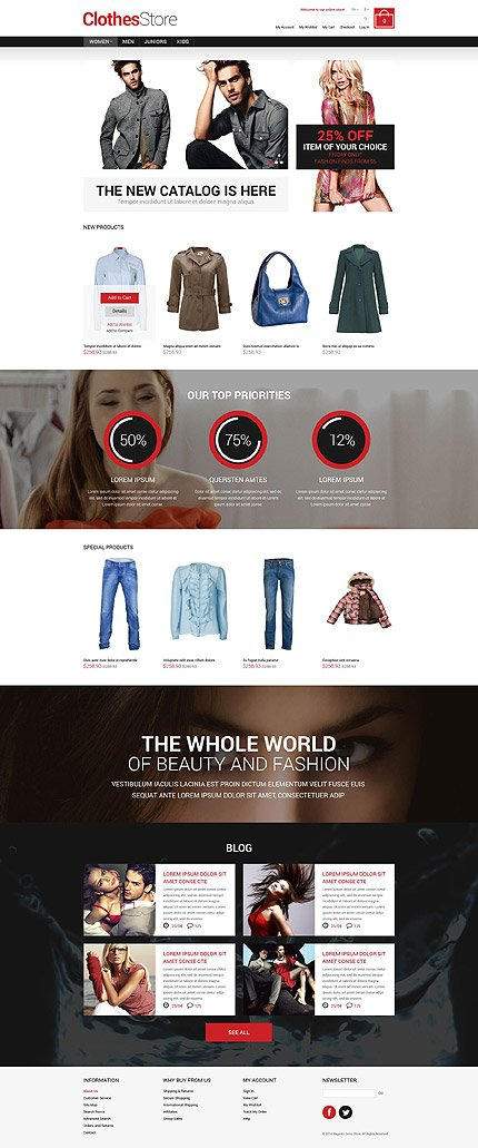 Magento Theme/Template 52187 Main Page Screenshot