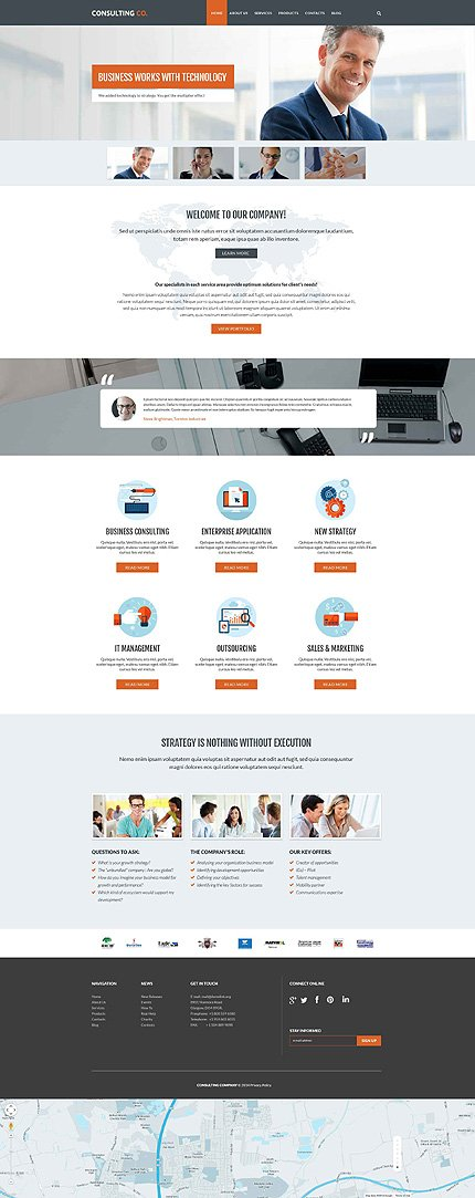 Drupal Template 52188 Main Page Screenshot