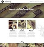 Art & Photography Website  Template 52189