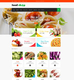 Food & Drink Magento Template 52192