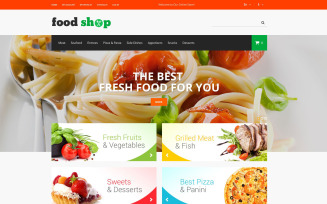 Tasty Shop Magento Theme