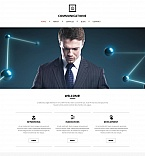 Communications Moto CMS HTML  Template 52194