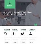 Science Moto CMS HTML  Template 52199