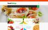 Адаптивний Magento шаблон на тему їжа New Screenshots BIG