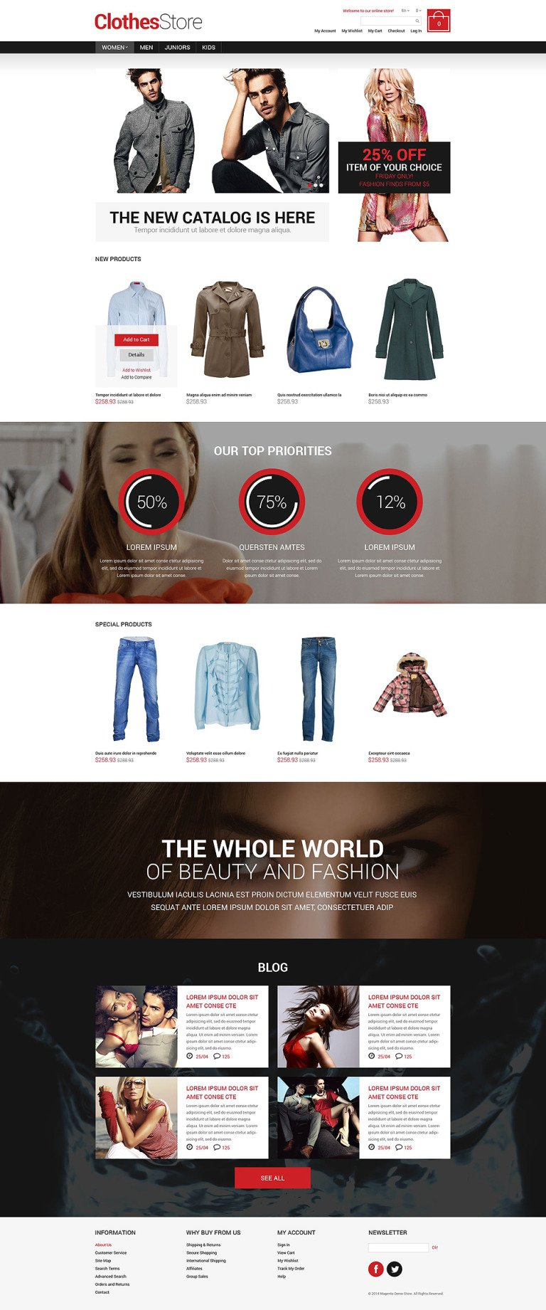 Apparel Responsive Magento Theme New Screenshots BIG