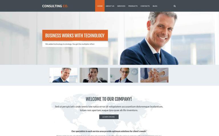 Business Drupal Template