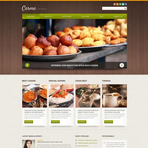 Carme - Joomla! Template based on Bootstrap