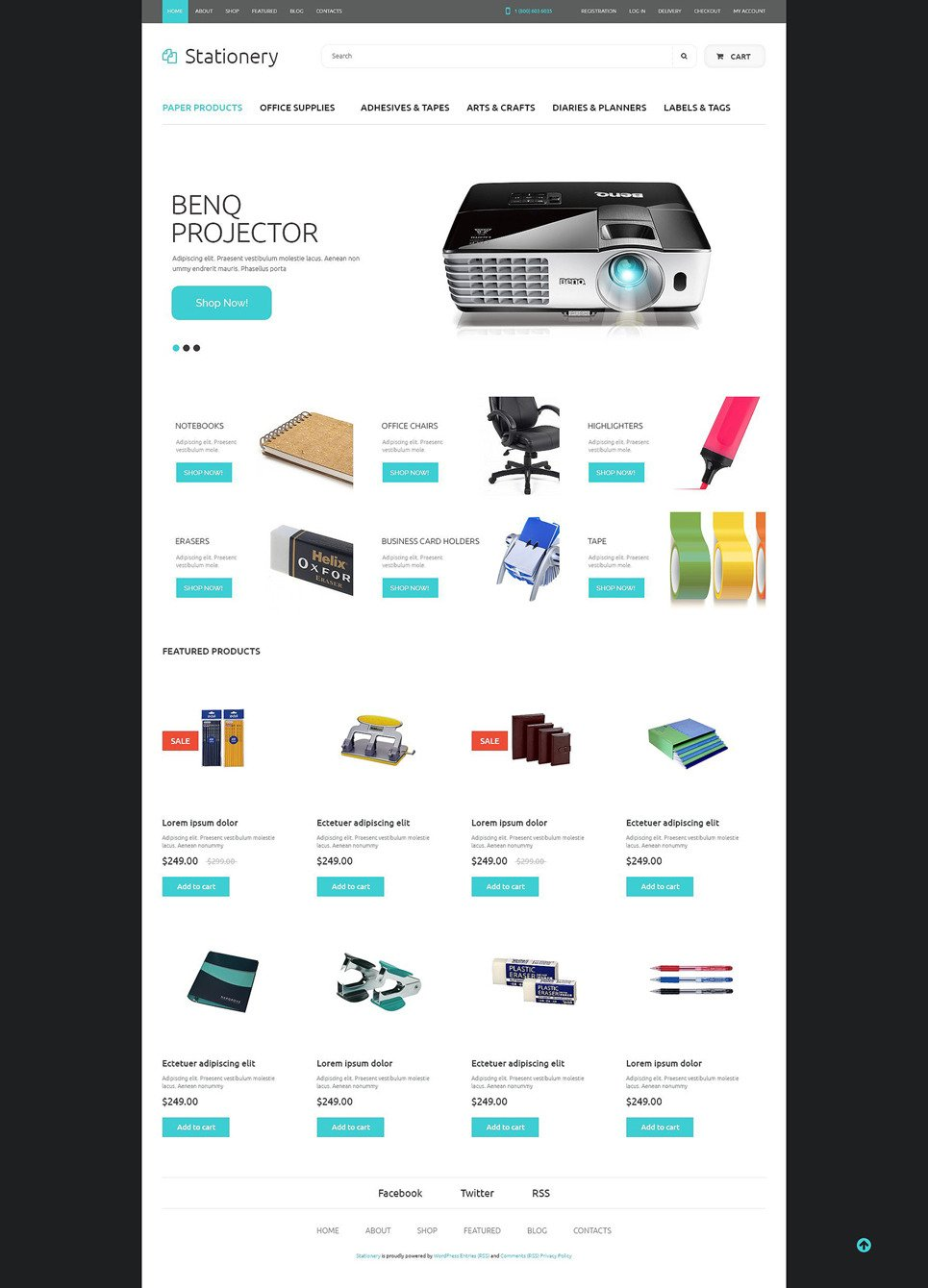 Office Supplies WooCommerce Theme New Screenshots BIG