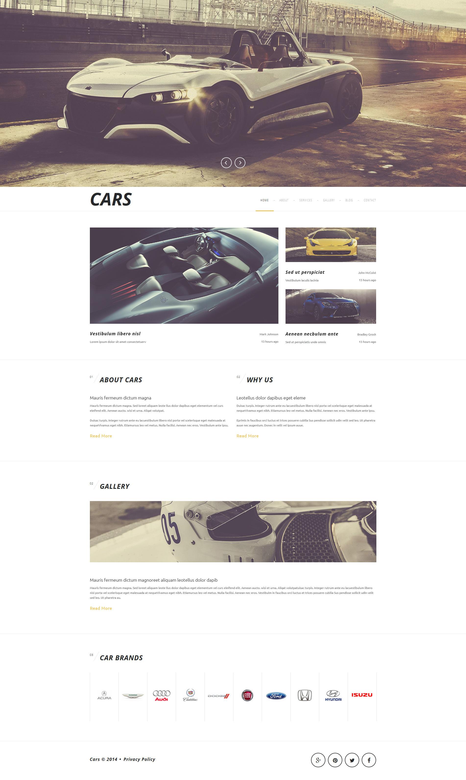 Plantilla Joomla #52182 para Sitio de Clubes de coches
