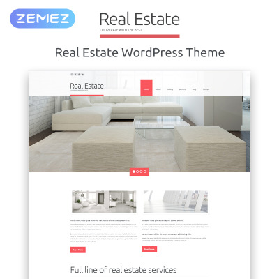 Real Estate Agency Responsive WordPress Thema