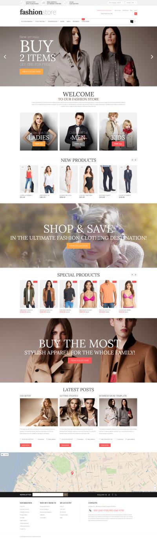 Fashion Store Responsive Magento Motiv