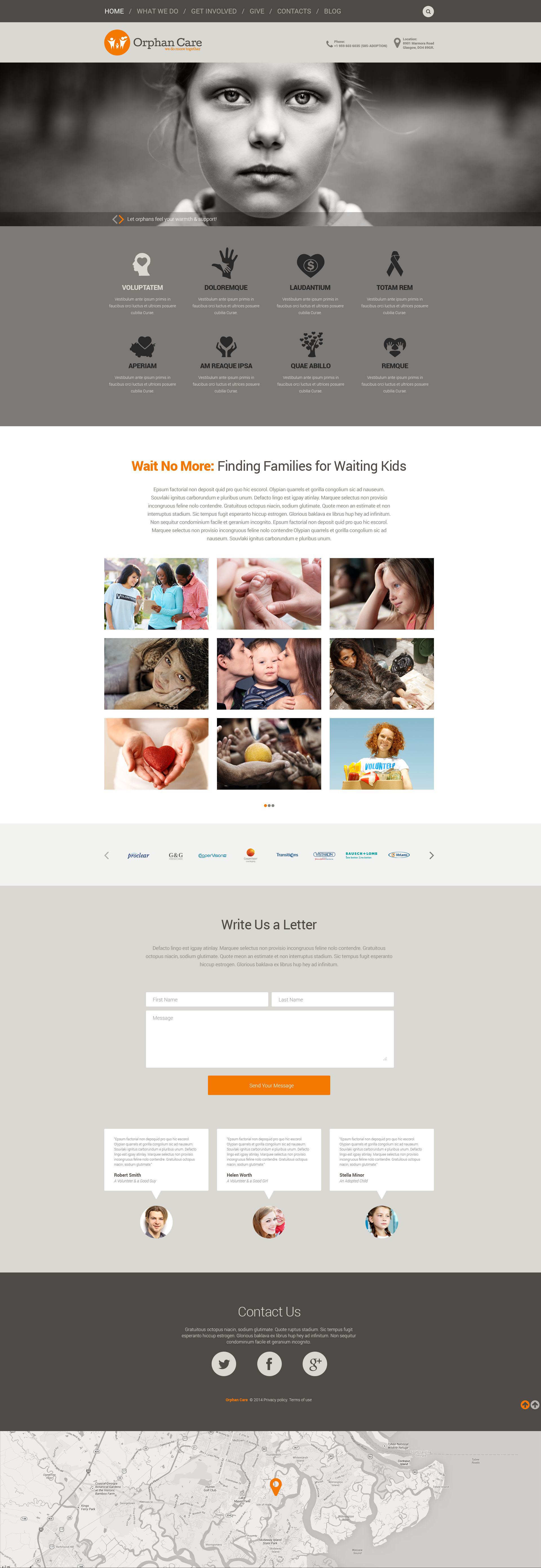 Uniting Families Tema WordPress №52176