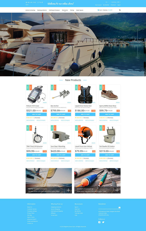 Yachting Responsive Magento Theme New Screenshots BIG