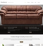Furniture Moto CMS HTML  Template 52204