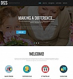 Society and Culture Moto CMS HTML  Template 52205