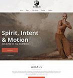Sport Moto CMS HTML  Template 52211