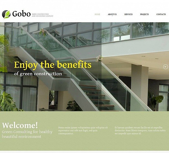 MotoCMS HTML шаблон на тему ландшафтний дизайн New Screenshots BIG