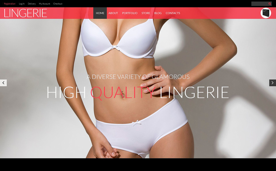 Responsive WooCommercie Thema over Lingerie  New Screenshots BIG