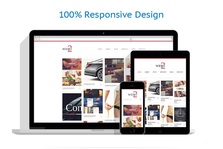 Modèles HTML5 Web design #52230