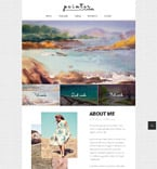 Personal Page Website  Template 52234