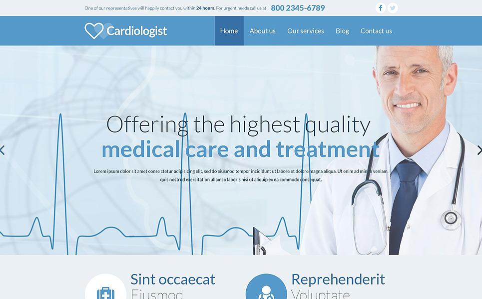 Reszponzív Egészségügy  Weboldal sablon New Screenshots BIG