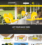 Furniture PrestaShop Template 52247